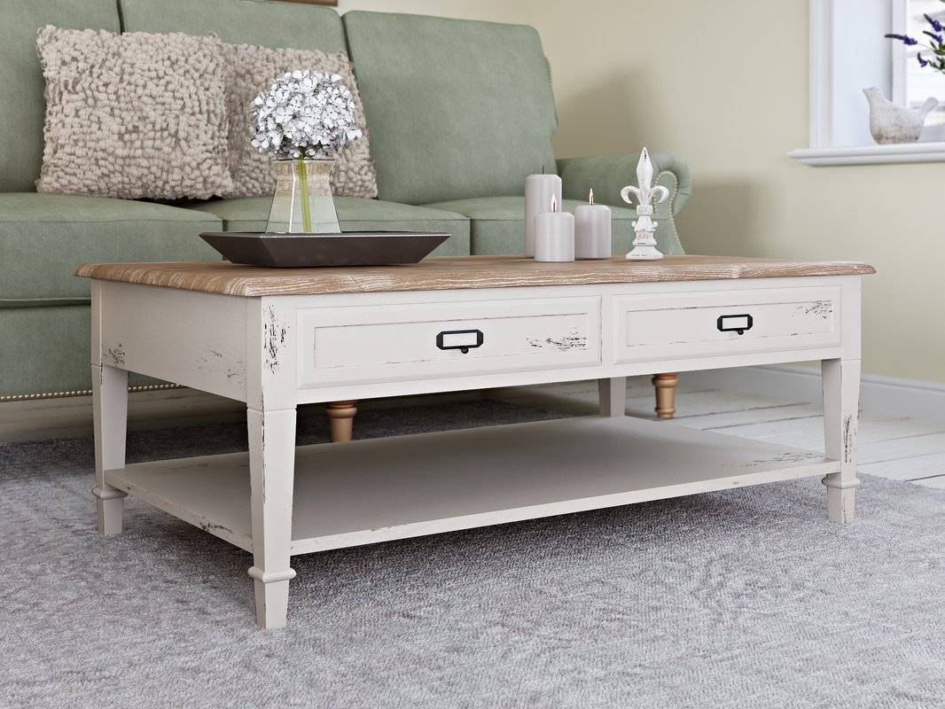 French Country Coffee Tables You'll Love | Wayfair inside French Country Coffee Tables (Image 18 of 30)