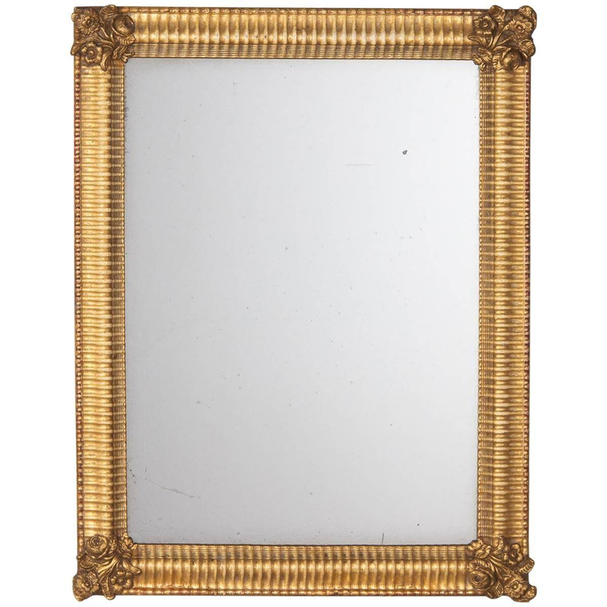 French Empire Period Gilded Mirror, Early 1800S For Sale At 1Stdibs Inside Antique Gilded Mirrors (View 10 of 25)
