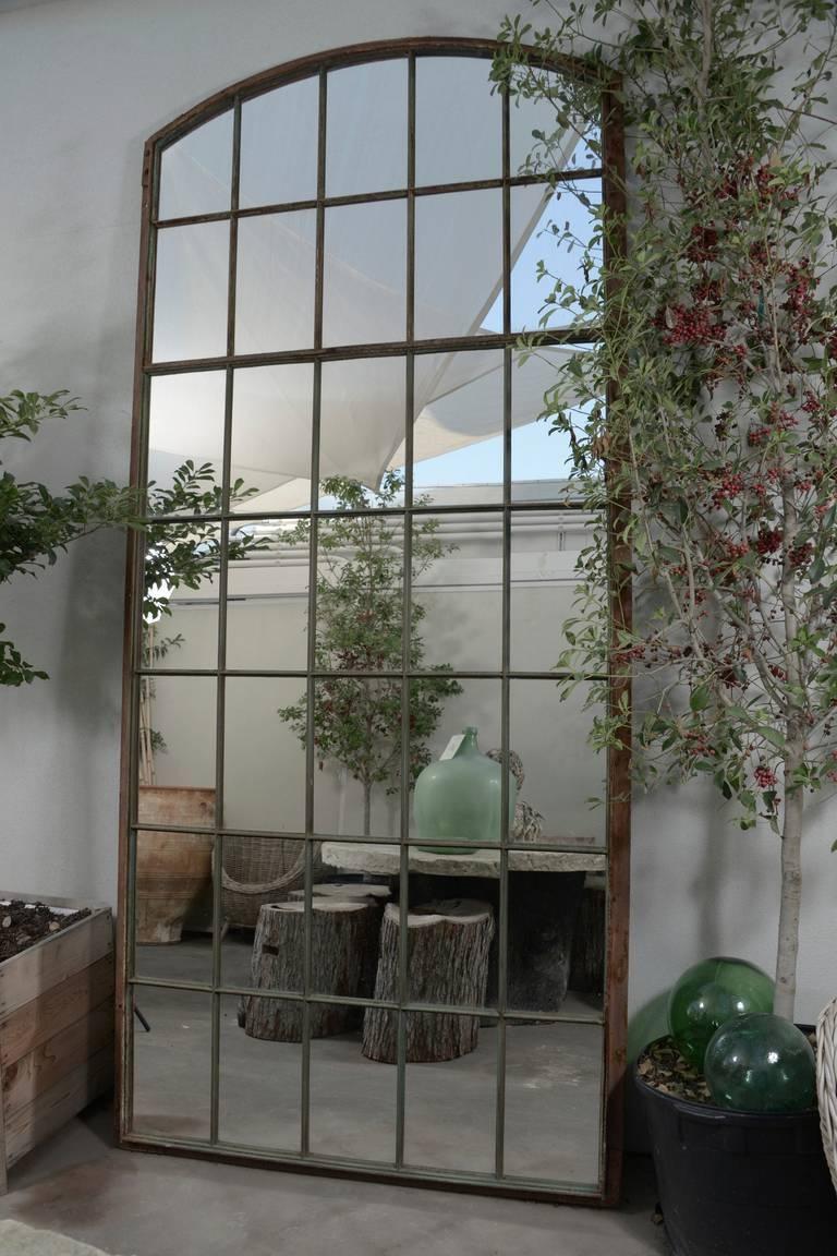"""French Garden Window Floor Mirror, 120 H"""" At 1Stdibs Throughout Garden Window Mirrors (Photo 14 of 25)"""