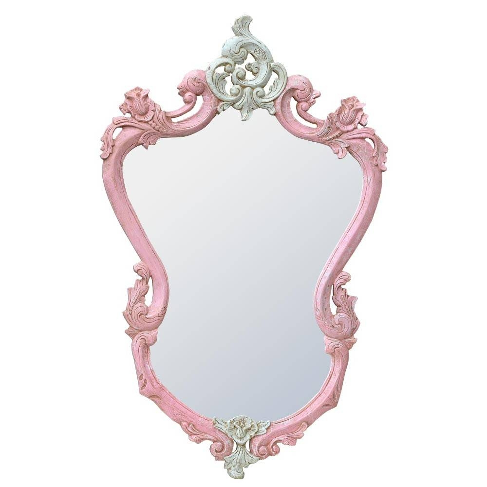 French Rococo Style Mirrors in White Rococo Mirrors (Image 14 of 25)