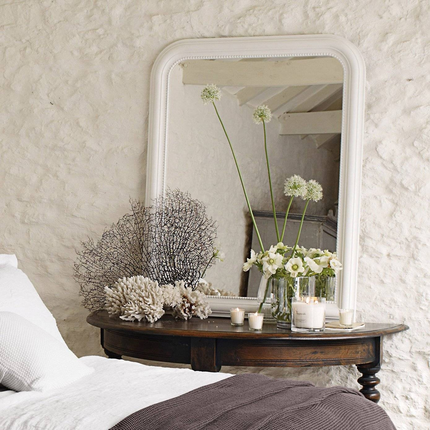 French Style Bedrooms - Love French Style throughout White French Mirrors (Image 15 of 25)