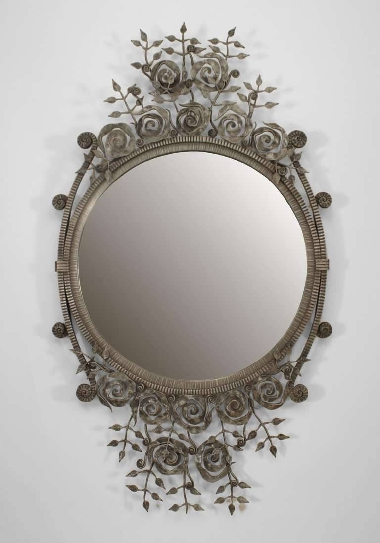 French Style Wall Mirror 64 Outstanding For Silver French Style with Large French Style Mirrors (Image 14 of 25)