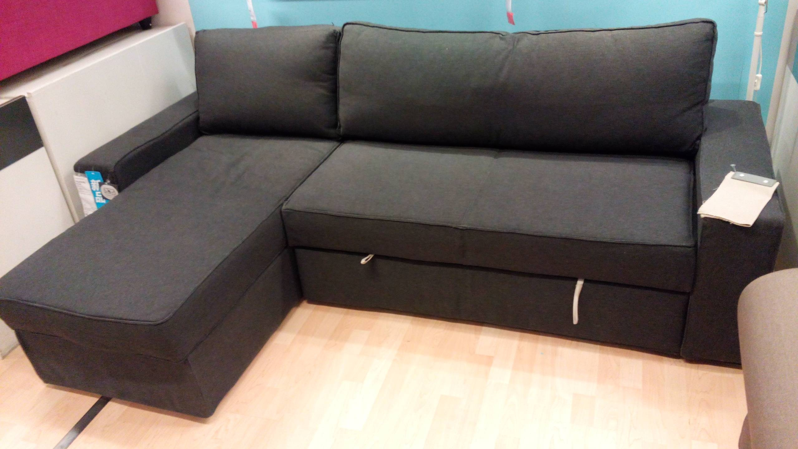 Fresh Manstad Sectional Sofa Bed Storage From Ikea 42 For Your Throughout  Manstad Sofa Bed Ikea