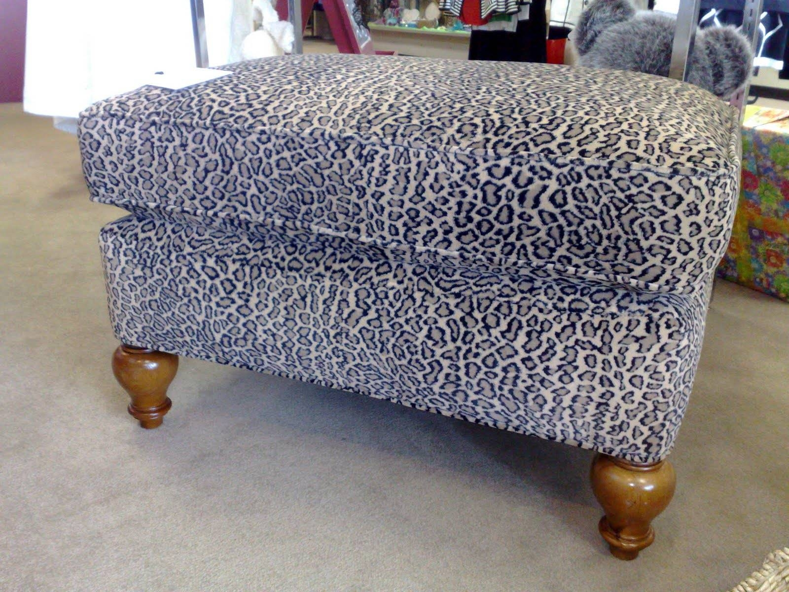 Fresh Round Leopard Ottoman #20561 for Leopard Ottoman Coffee Tables (Image 11 of 30)