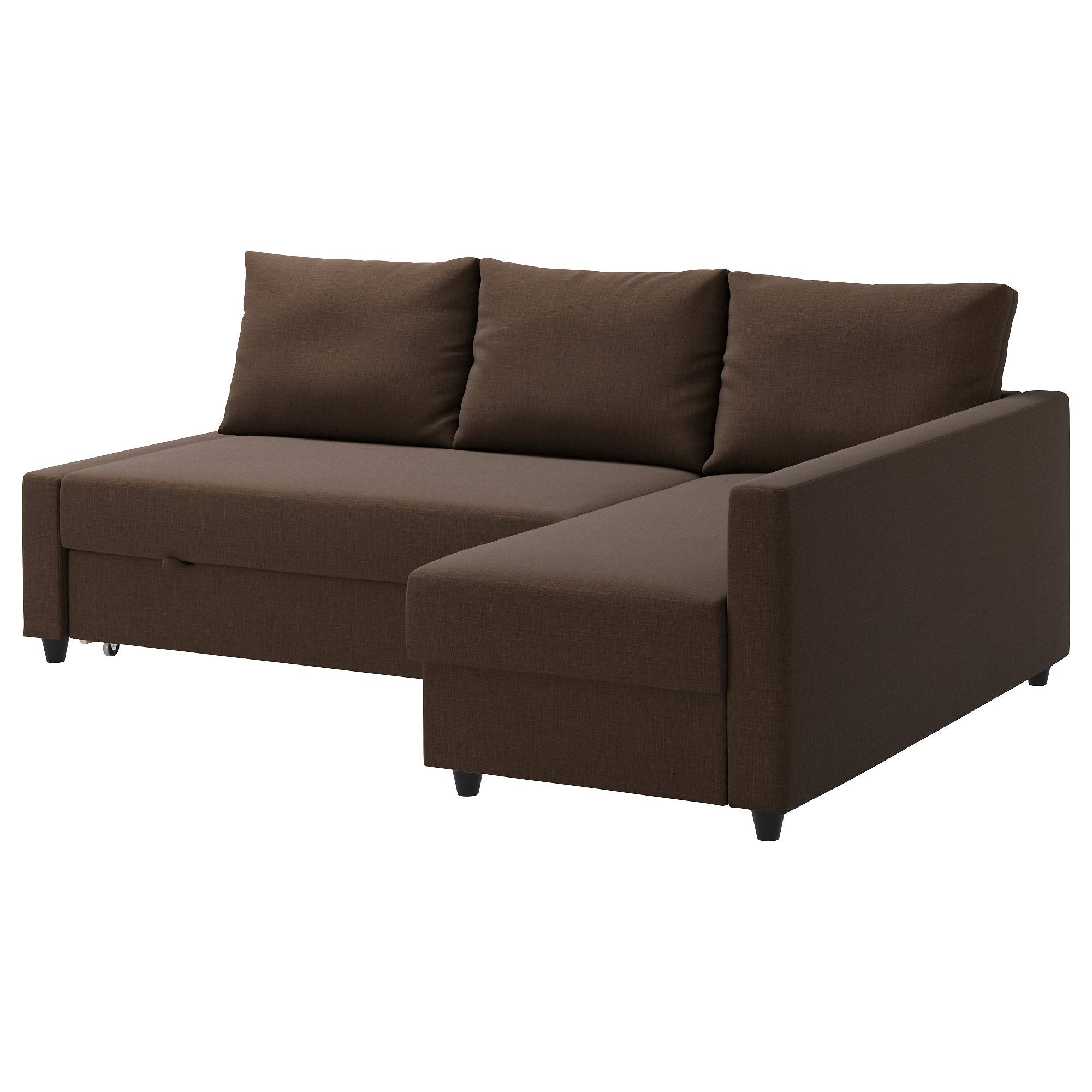 Friheten Sleeper Sectional,3 Seat W/storage - Skiftebo Dark Gray regarding Sofa Bed Sleepers (Image 6 of 30)