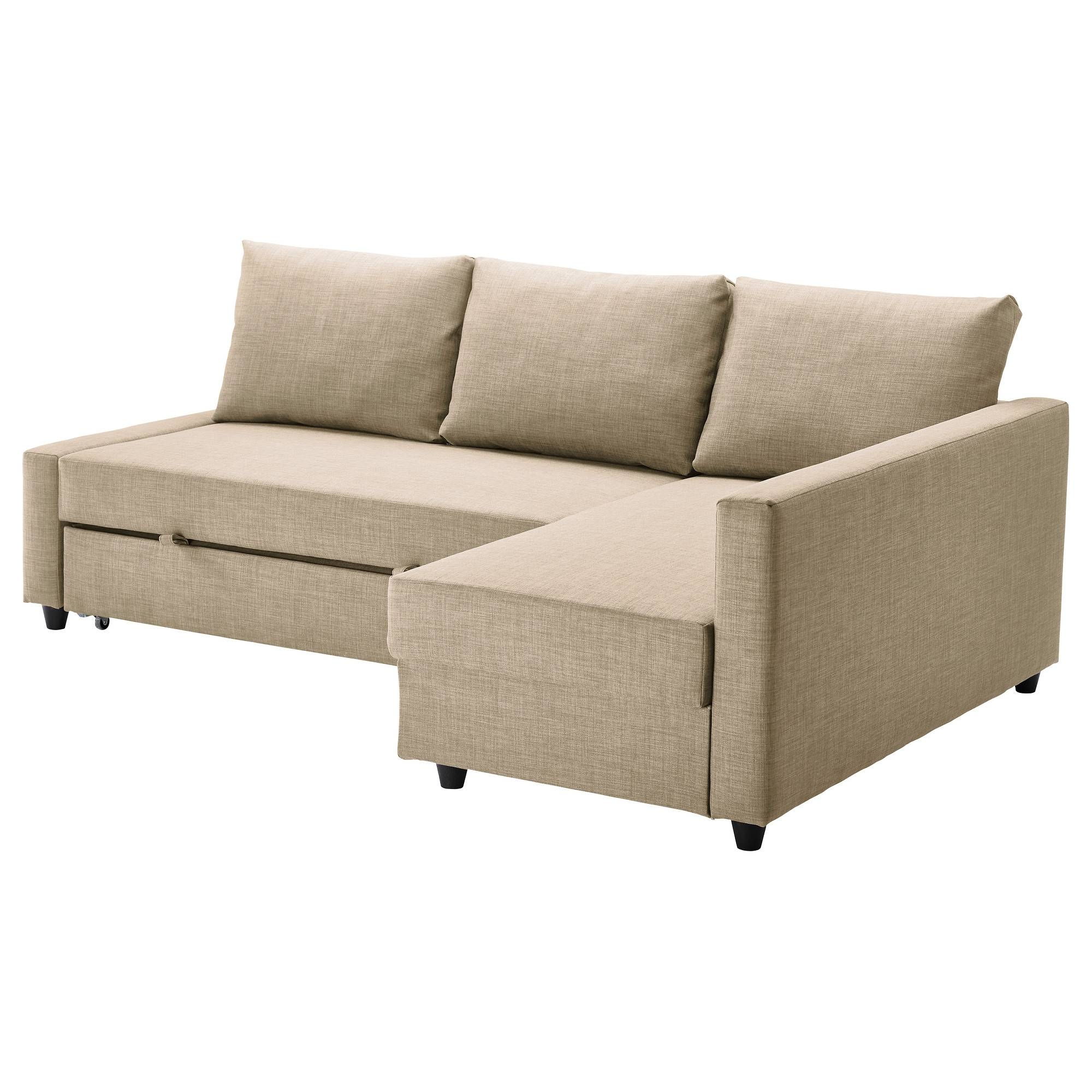 Friheten Sleeper Sectional,3 Seat W/storage - Skiftebo Dark Gray throughout Sectional Sofas With Sleeper And Chaise (Image 14 of 30)