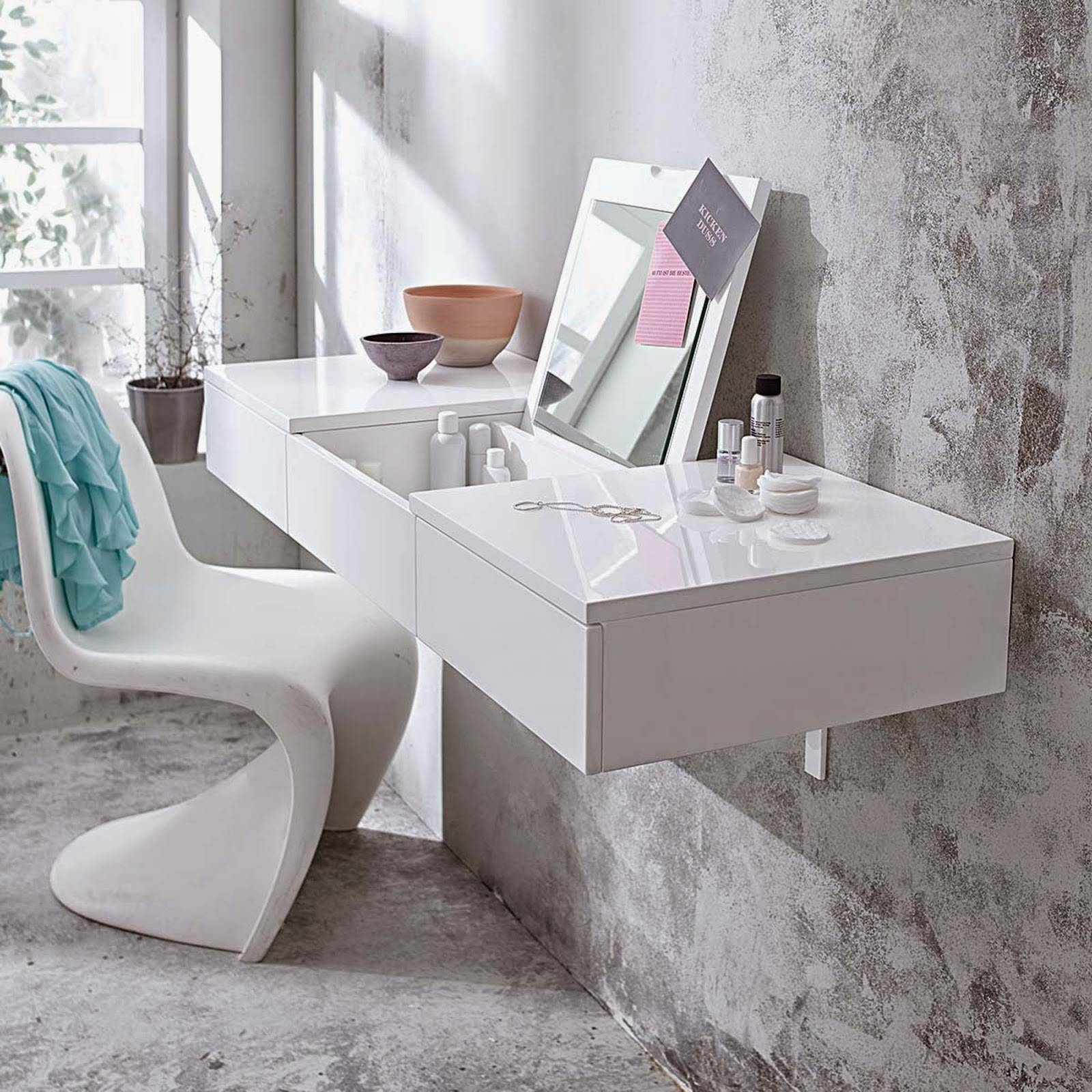 Full Catalog Of Dressing Table Designs, Ideas And Styles regarding Decorative Dressing Table Mirrors (Image 14 of 25)