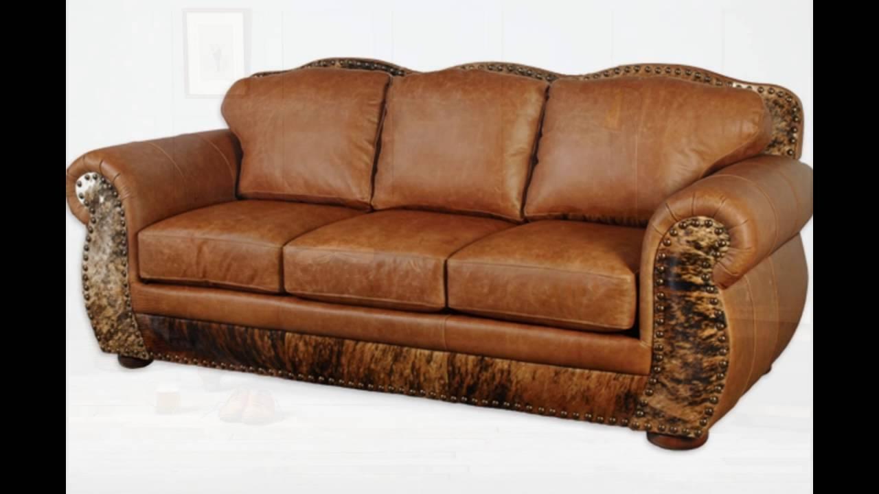 Full Grain Leather Sofa - Youtube inside Full Grain Leather Sofas (Image 8 of 30)