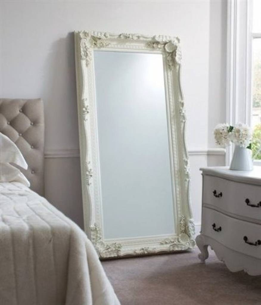 Full Length Decorative Wall Mirrors Mirrors Grand Silver Full intended for Big White Mirrors (Image 11 of 25)