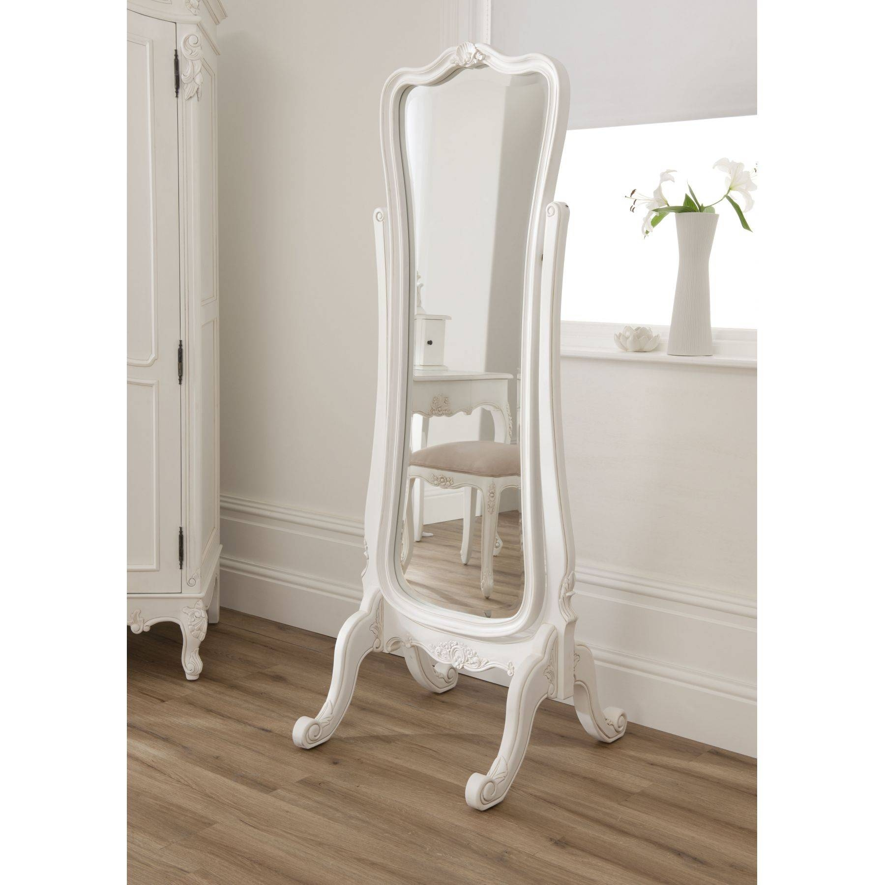 Full Length Mirror Free Standing | Vanity Decoration With Antique Free Standing Mirrors (View 7 of 25)