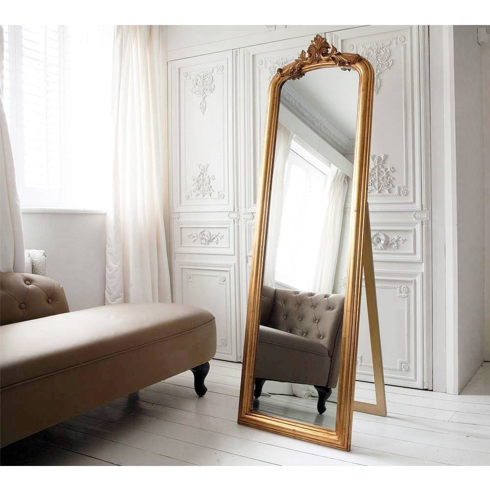 Full Length Mirrors | French Bedroom Company Regarding French Full Length Mirrors (View 18 of 25)