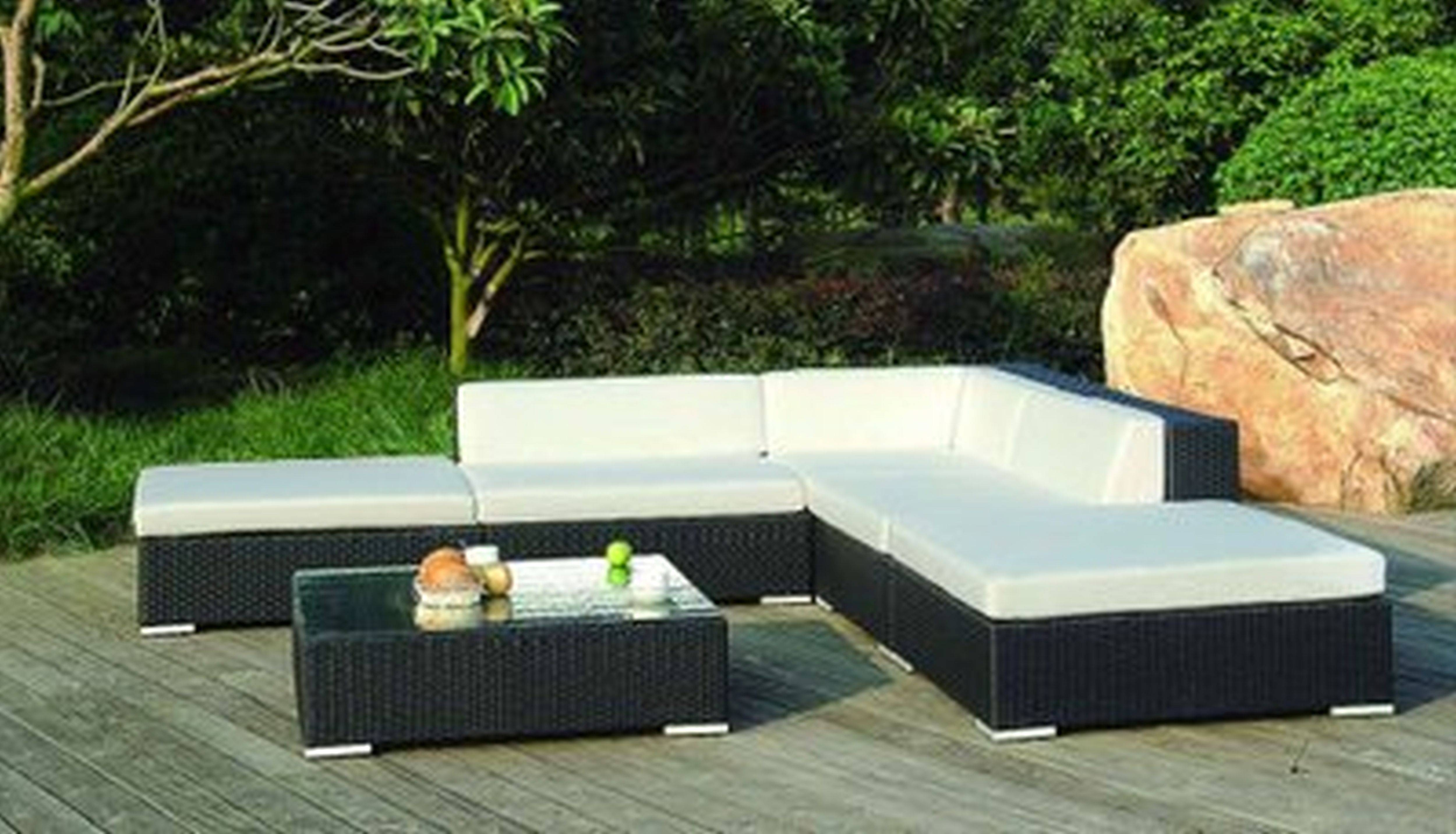 Funiture: Modern Outdoor Affordable Furniture Using Resin Wicker with regard to Modern Rattan Sofas (Image 14 of 30)