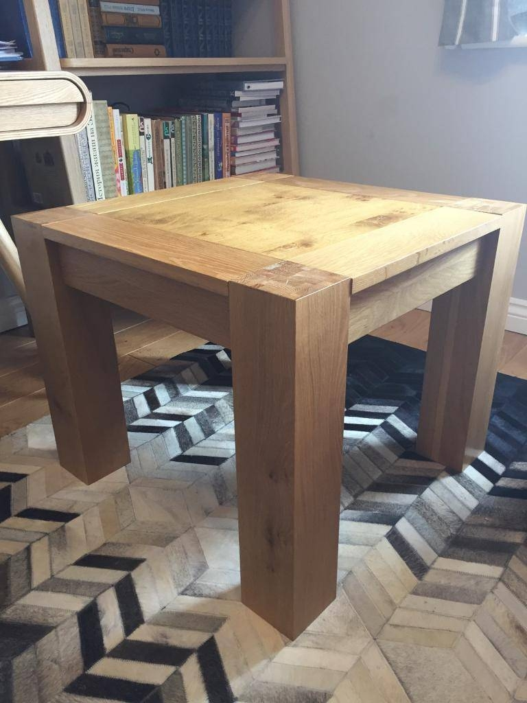 Top 30 of Chunky Oak Coffee Tables