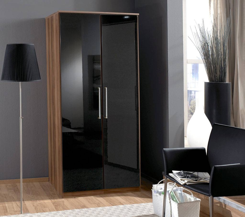 Featured Photo of Gloss Black Wardrobes