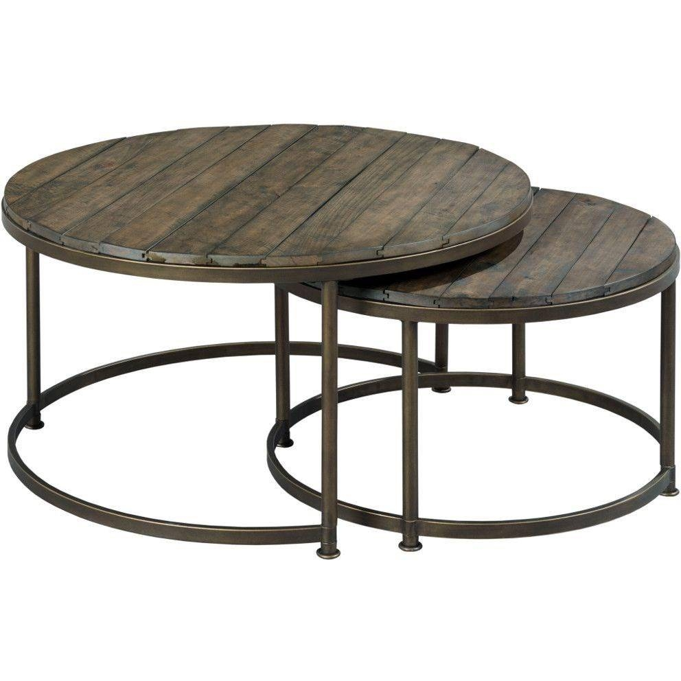 Furniture: Add Classic Style To Your Home With Weathered Coffee pertaining to Coffee Tables With Nesting Stools (Image 18 of 30)