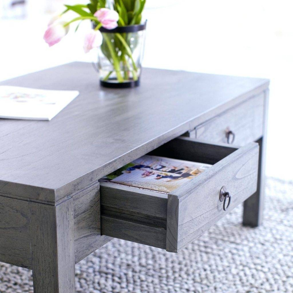 Furniture: Add Classic Style To Your Home With Weathered Coffee regarding Grey Wood Coffee Tables (Image 15 of 30)
