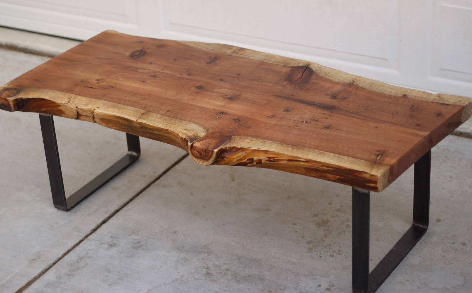 Furniture: Add Classic Style To Your Home With Weathered Coffee Regarding Low Industrial Coffee Tables (View 6 of 30)