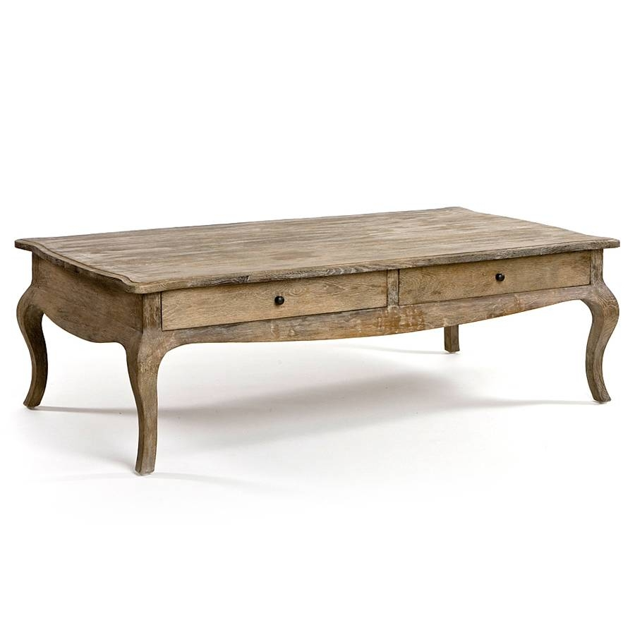 Furniture: Add Classic Style To Your Home With Weathered Coffee throughout Round Oak Coffee Tables (Image 12 of 30)