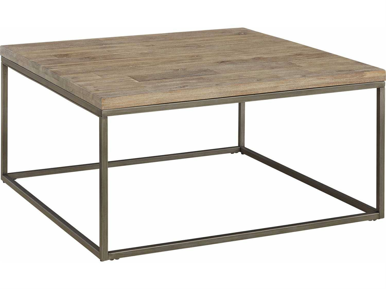 Furniture: Add Classic Style To Your Home With Weathered Coffee with Metal Square Coffee Tables (Image 9 of 30)