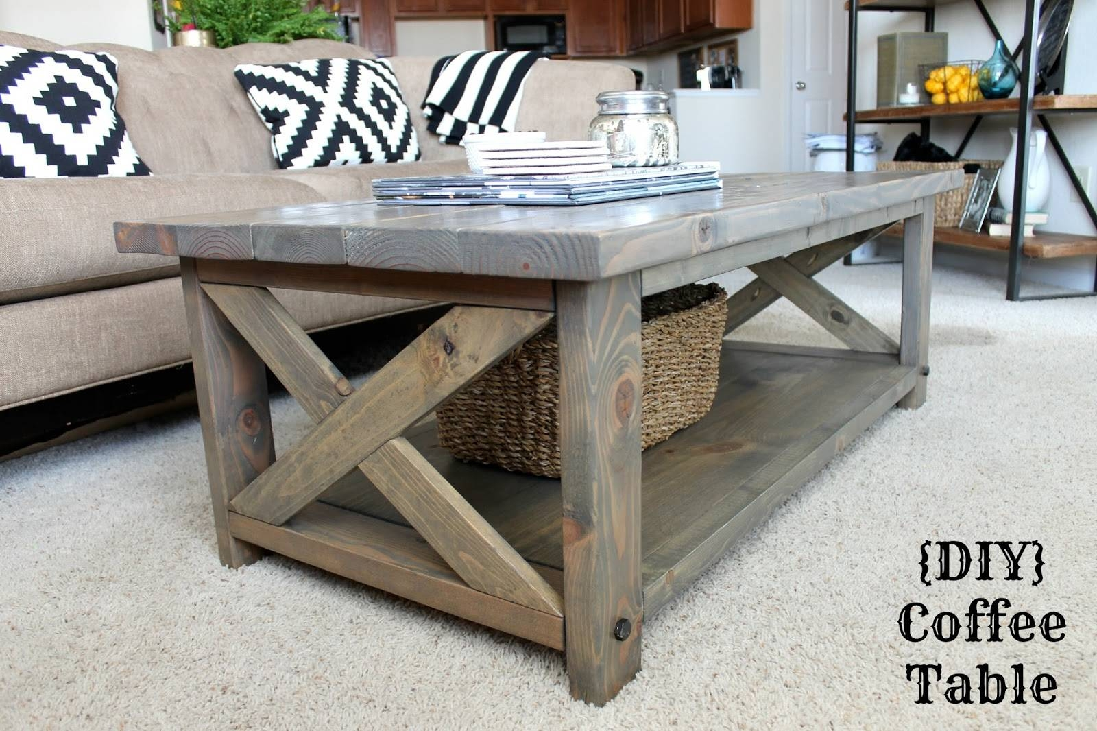 Furniture: Add Classic Style To Your Home With Weathered Coffee with White and Oak Coffee Tables (Image 16 of 30)