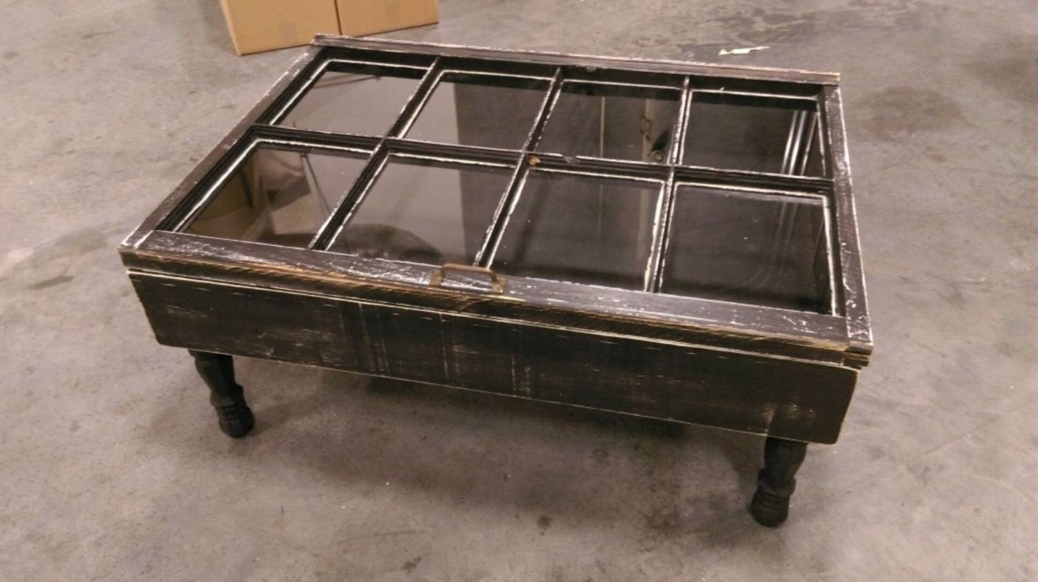 Furniture: Add Classic Style To Your Home With Weathered Coffee within Square Dark Wood Coffee Tables (Image 16 of 30)