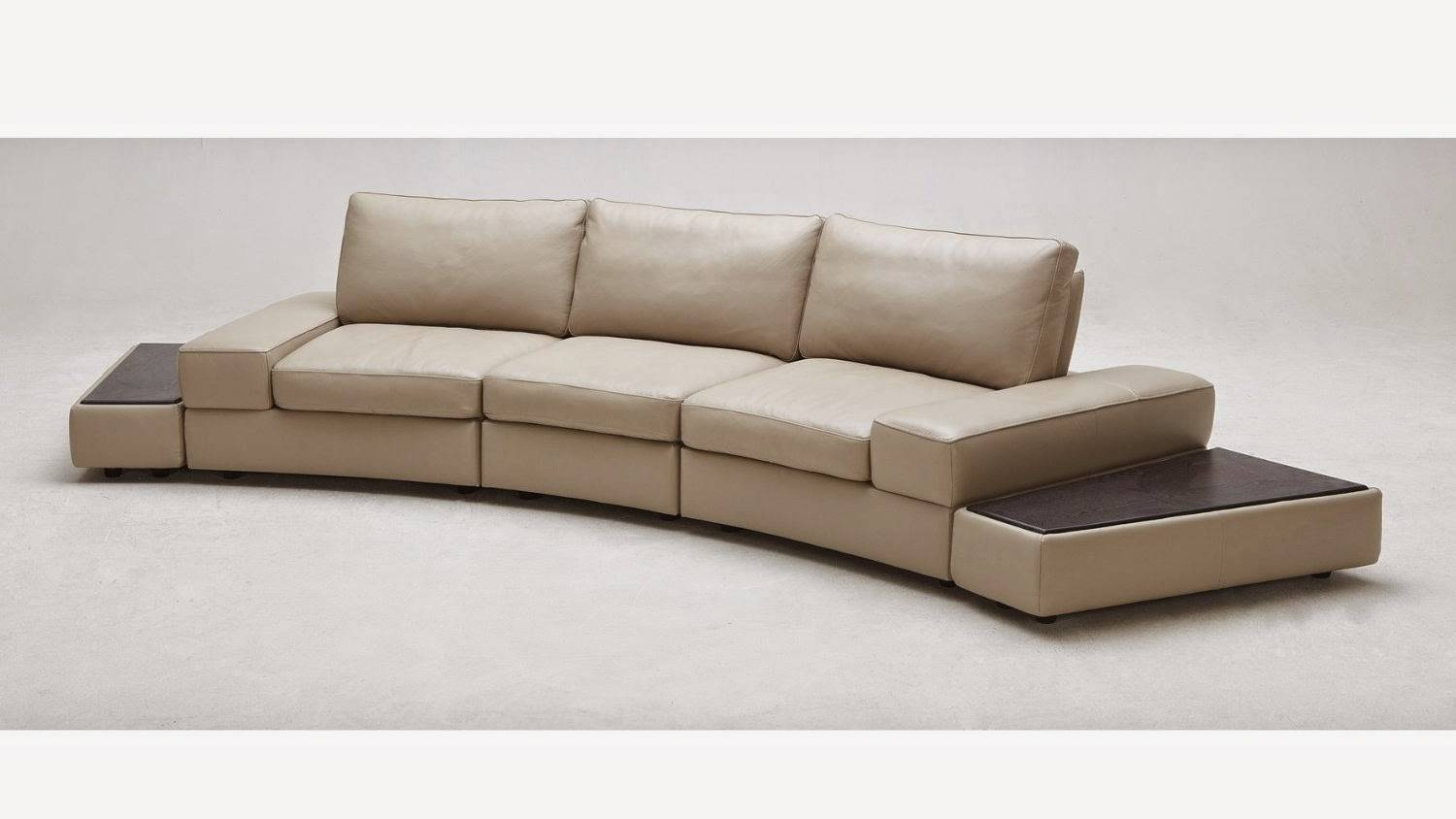 Furniture: Alluring Unique Curved Couches With Classic Design Home inside Conversation Sofa Sectional (Image 16 of 30)
