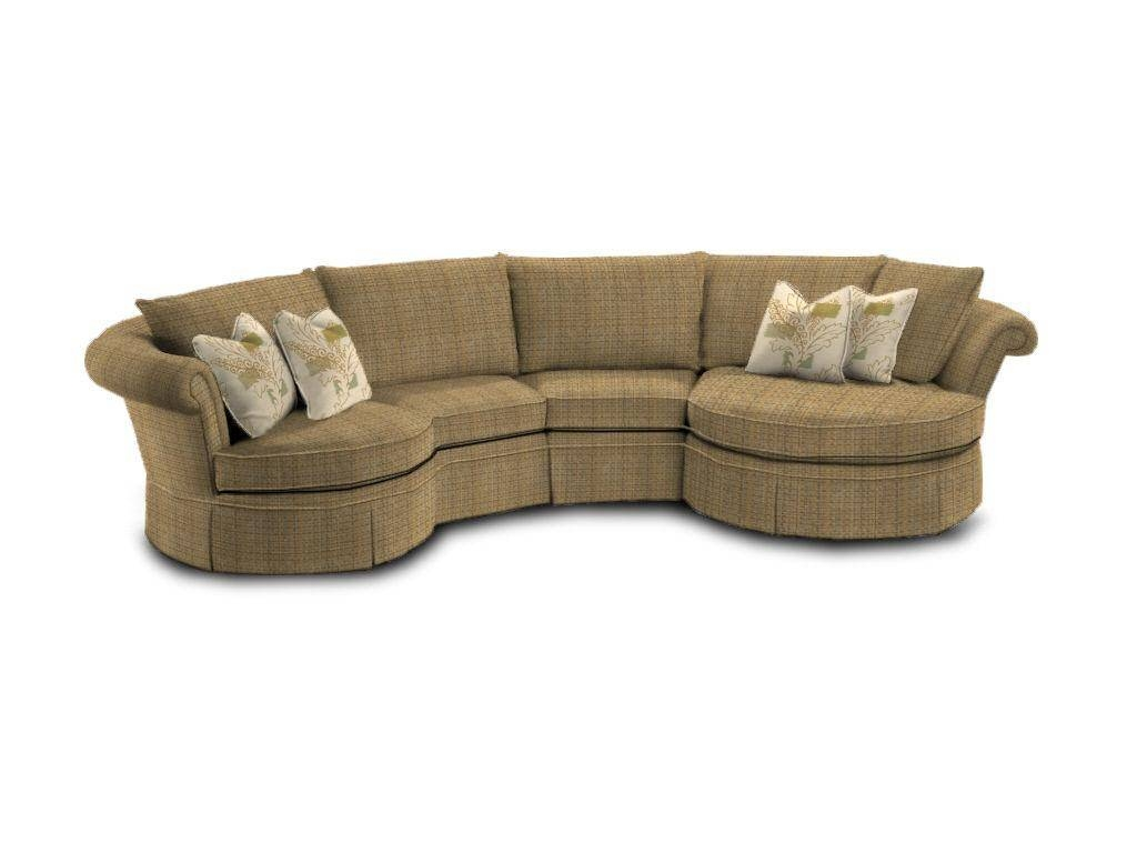 Furniture: Alluring Unique Curved Couches With Classic Design Home pertaining to Conversation Sofa Sectional (Image 17 of 30)