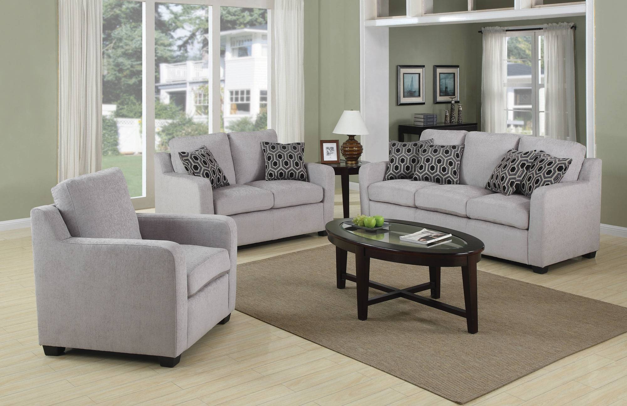 Furniture: Amazing Set Of Chairs For Living Room Cheap Couches With Grey Sofa Chairs (Photo 2 of 30)