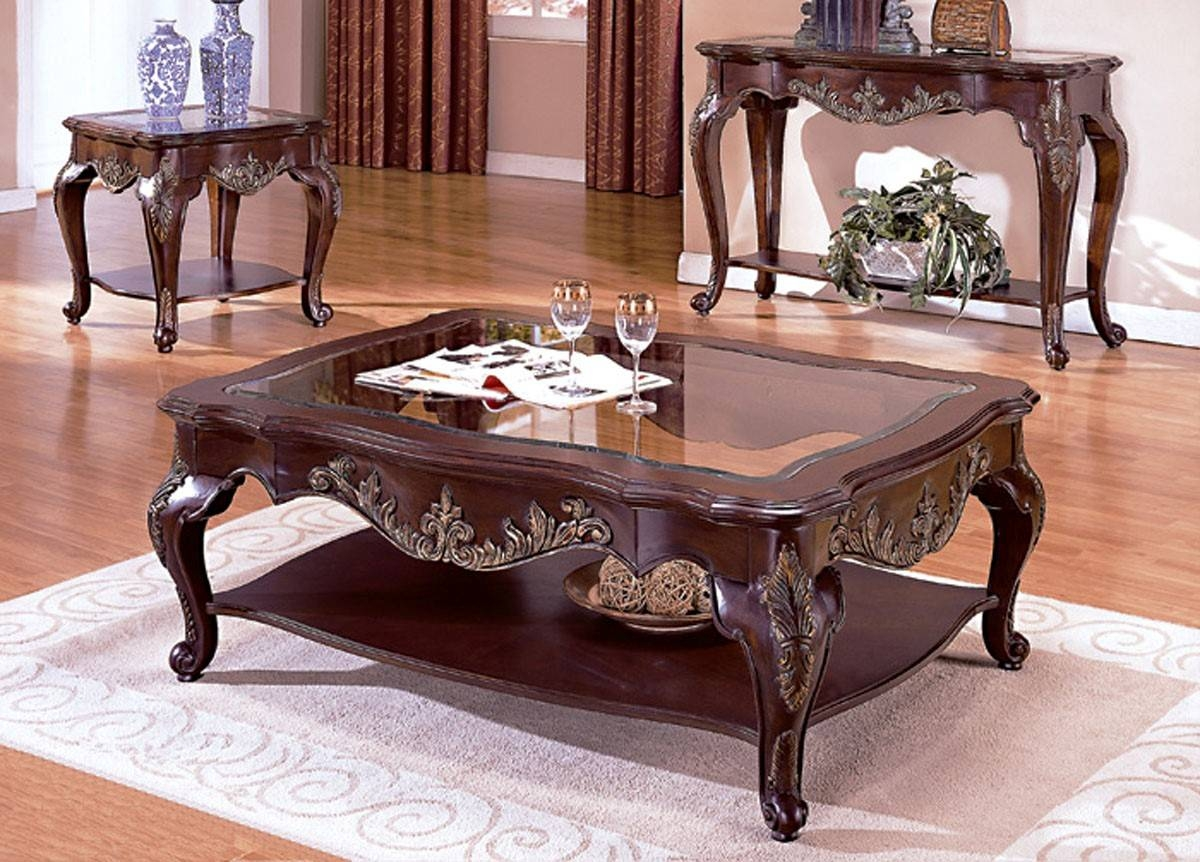 Furniture: Antique Coffee Tables Coffee Tables And End Tables pertaining to Antique Glass Top Coffee Tables (Image 19 of 30)