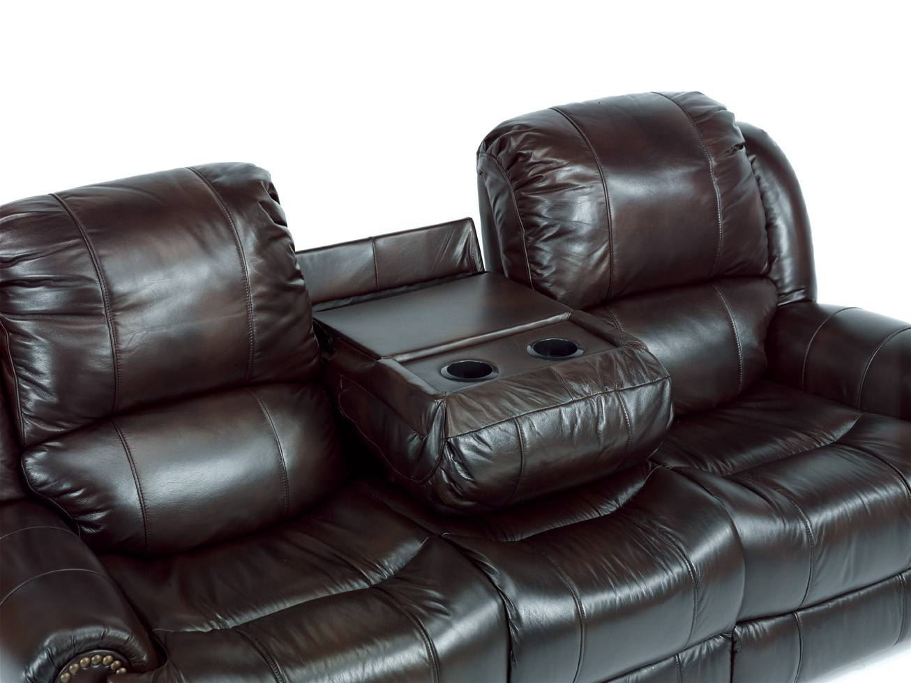 Furniture: Appealing Leather Reclining Couch For Decorating Your with Chesterfield Recliners (Image 10 of 30)