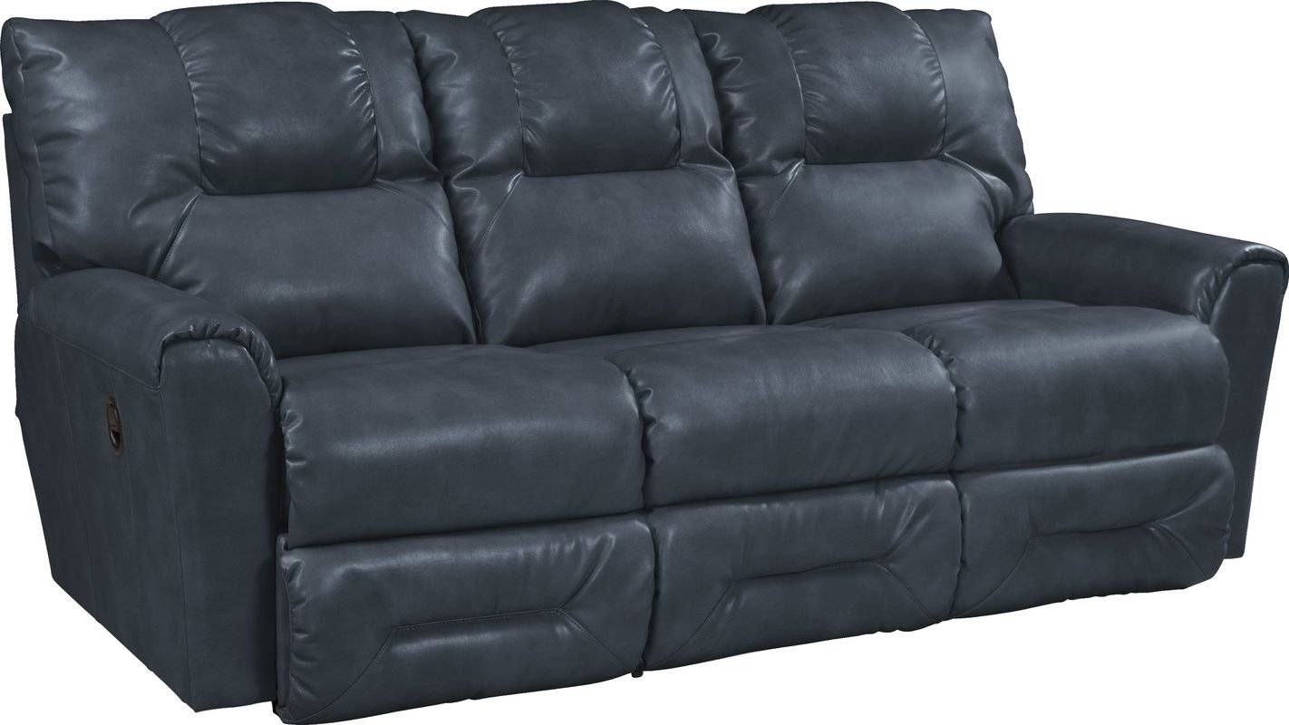 Furniture: Appealing Leather Reclining Couch For Decorating Your within Chesterfield Recliners (Image 11 of 30)