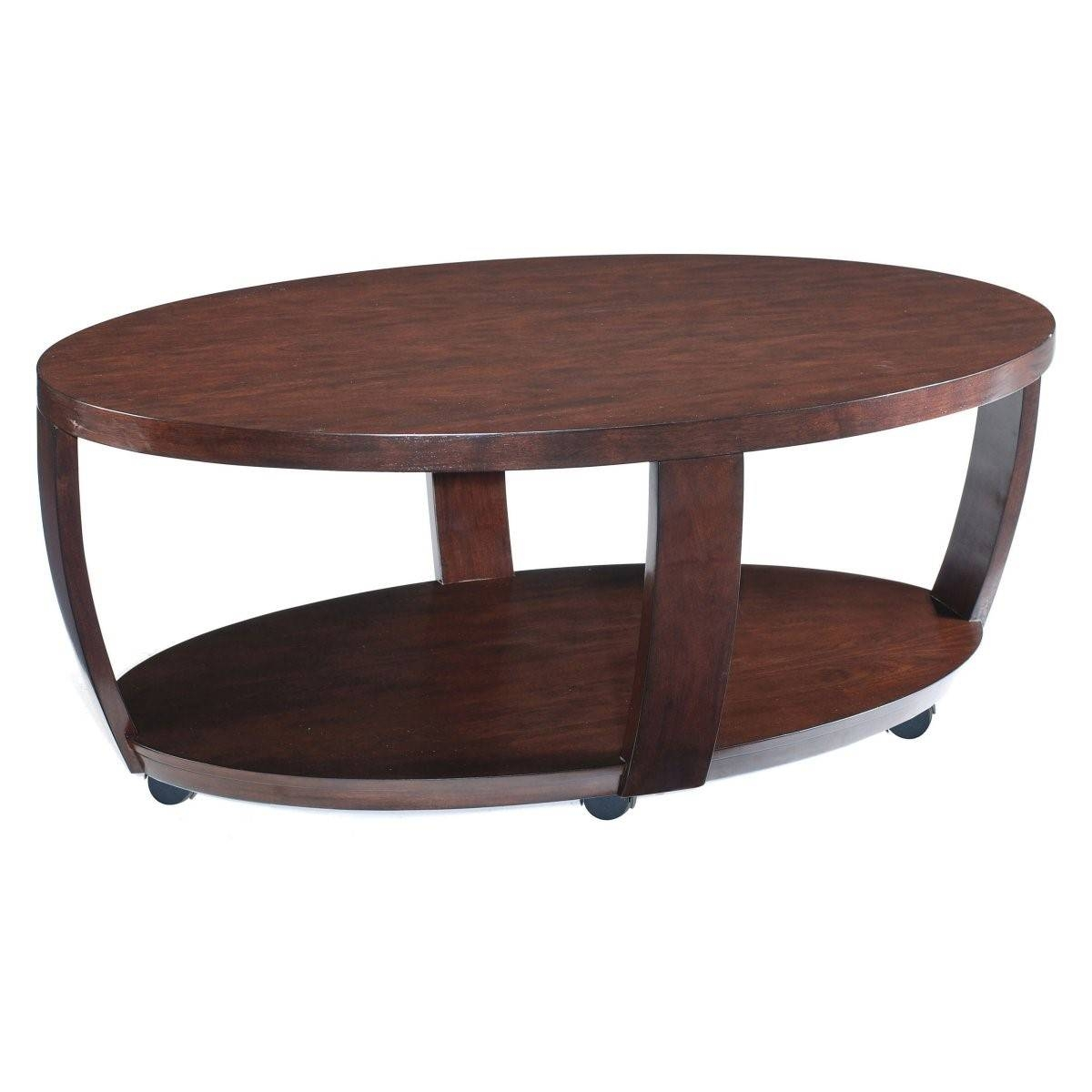 Furniture: Appealing White Gloss Coffee Table Design Ideas White throughout Oval Wooden Coffee Tables (Image 12 of 30)