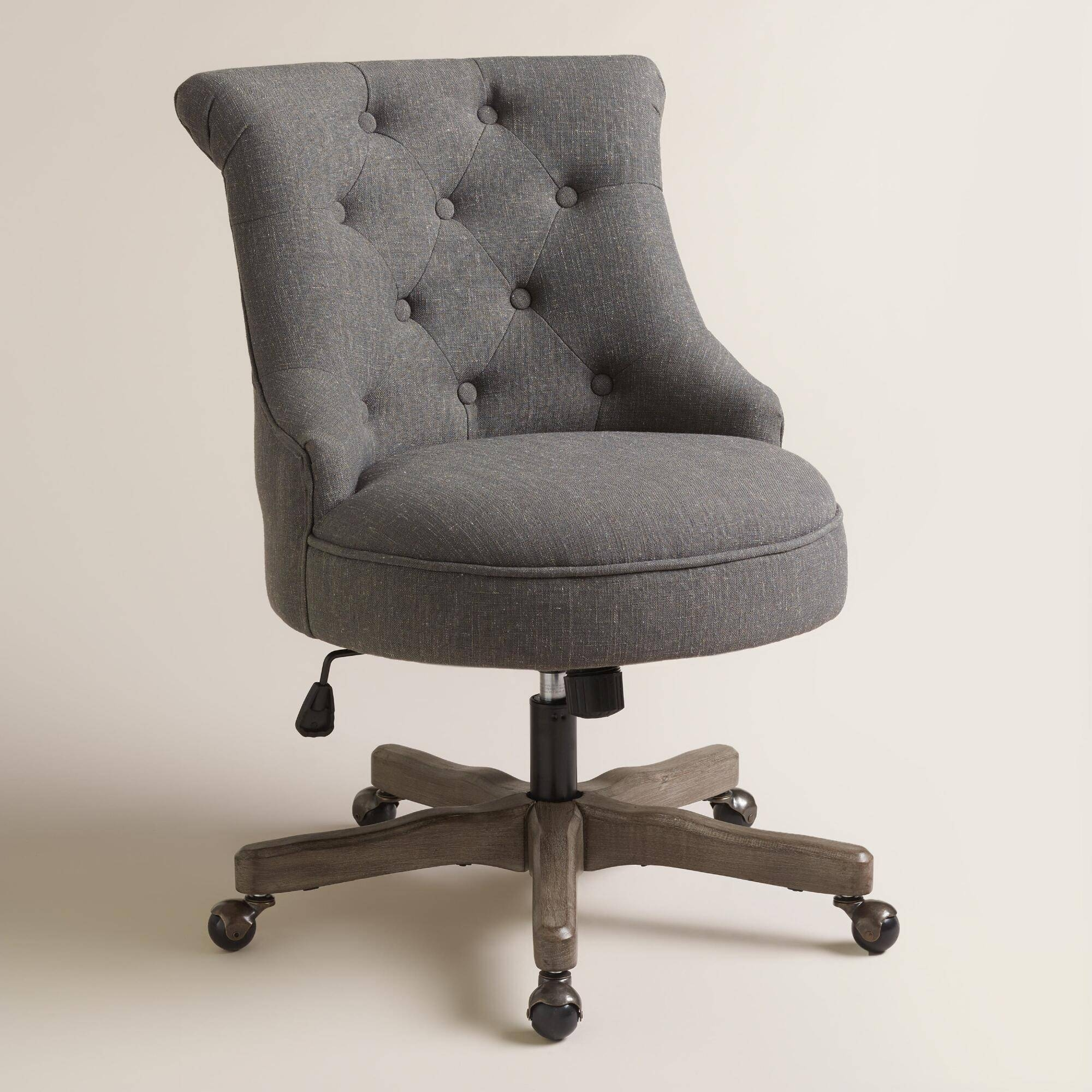 Furniture: Arhaus Chairs For Inspiring Upholstered Chair Design throughout Sofa Desk Chairs (Image 3 of 15)