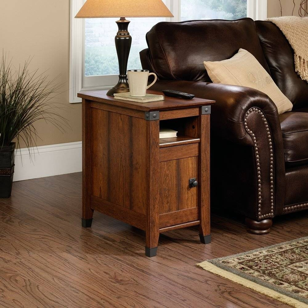 Furniture: Attractive End Table With Storage And Narrow Coffee intended for Small Coffee Tables With Drawer (Image 12 of 30)