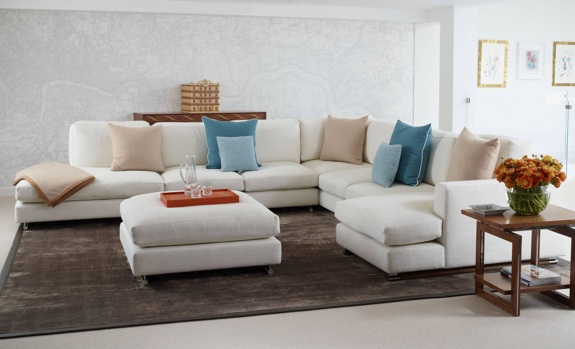 Furniture. Awesome Modular Sectionals Sofas: Cozy Modular for Small Modular Sectional Sofa (Image 7 of 25)