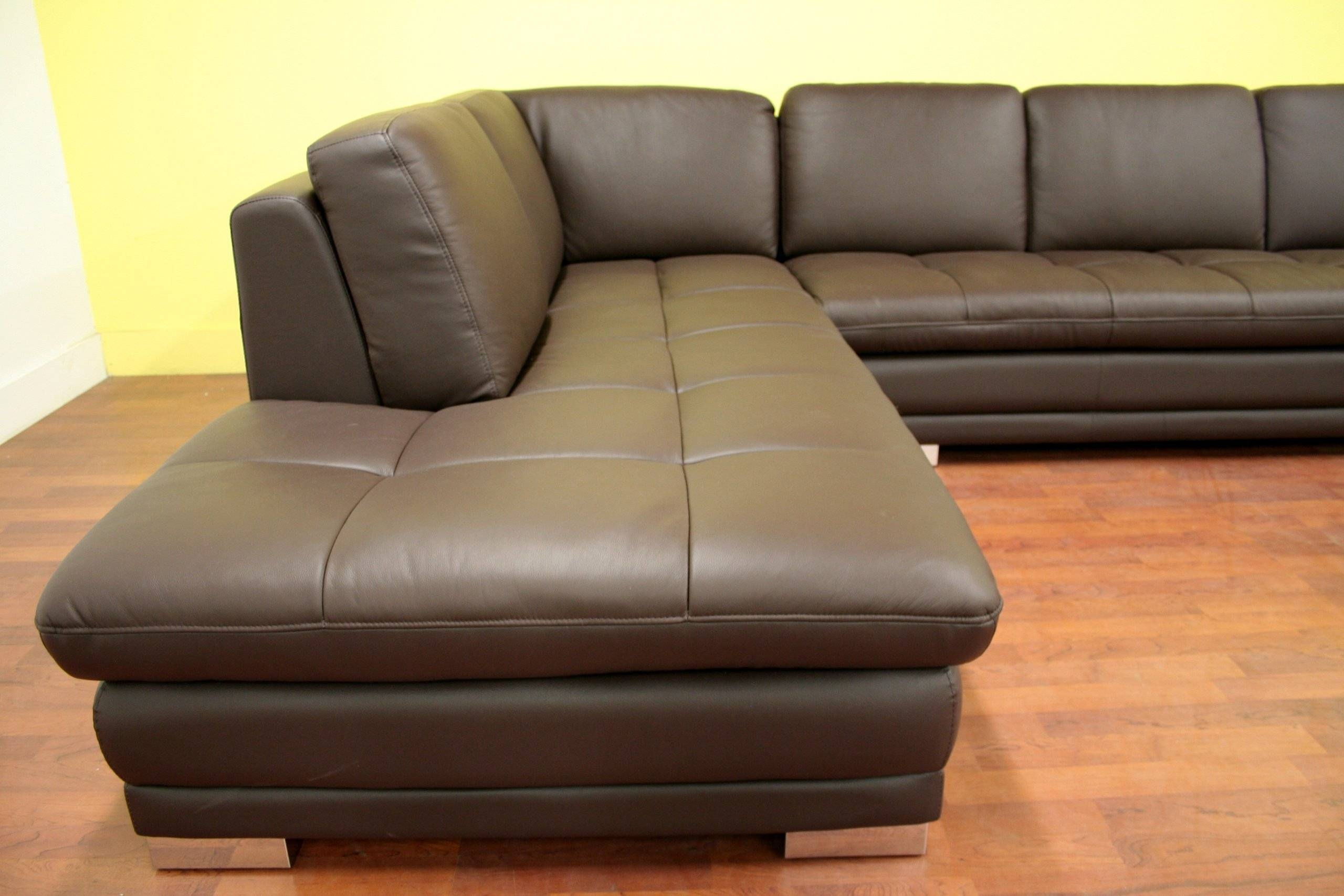 Furniture: Baxton Studio Sectional | Braxton Sectional Sofa for Dobson Sectional Sofa (Image 7 of 30)
