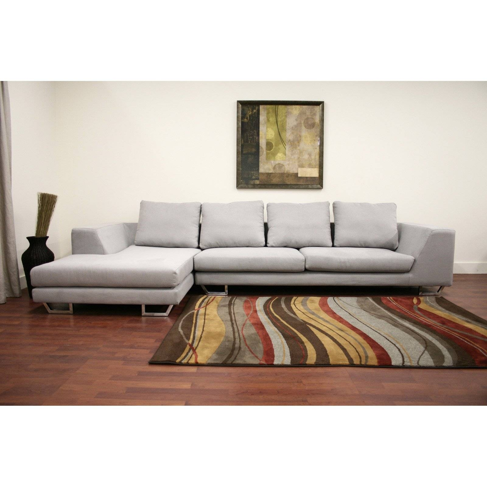 Furniture: Baxton Studio Sectional | Braxton Sectional Sofa pertaining to Dobson Sectional Sofa (Image 8 of 30)