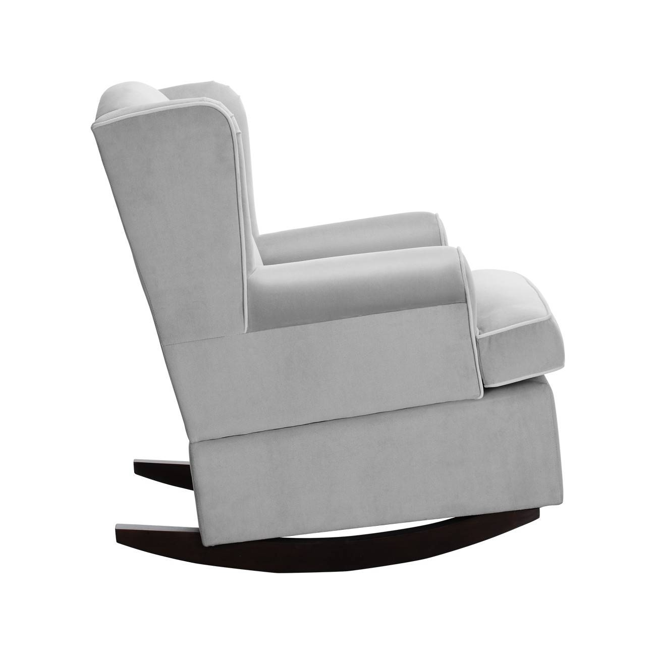 Furniture: Beautiful Upholstered Rocking Chair For Home Furniture with regard to Sofa Rocking Chairs (Image 7 of 30)
