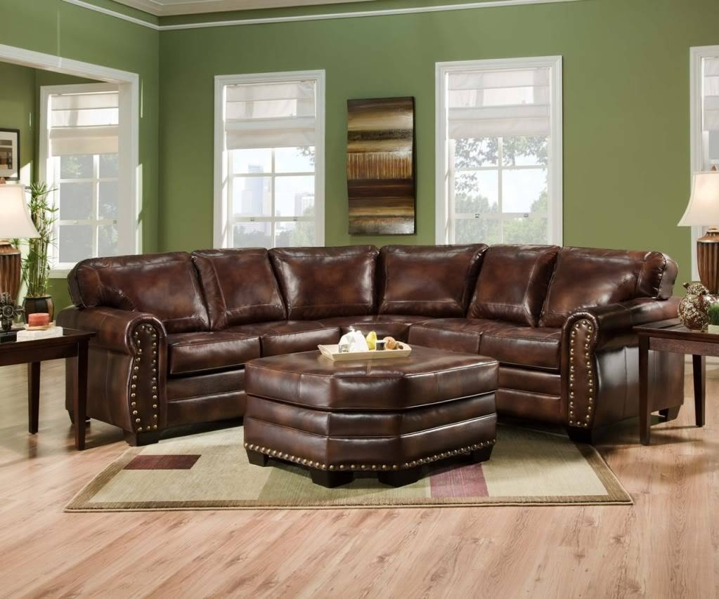 Furniture: Best Design Of Brown Leather Sectional For Modern with Macys Leather Sofas Sectionals (Image 2 of 25)