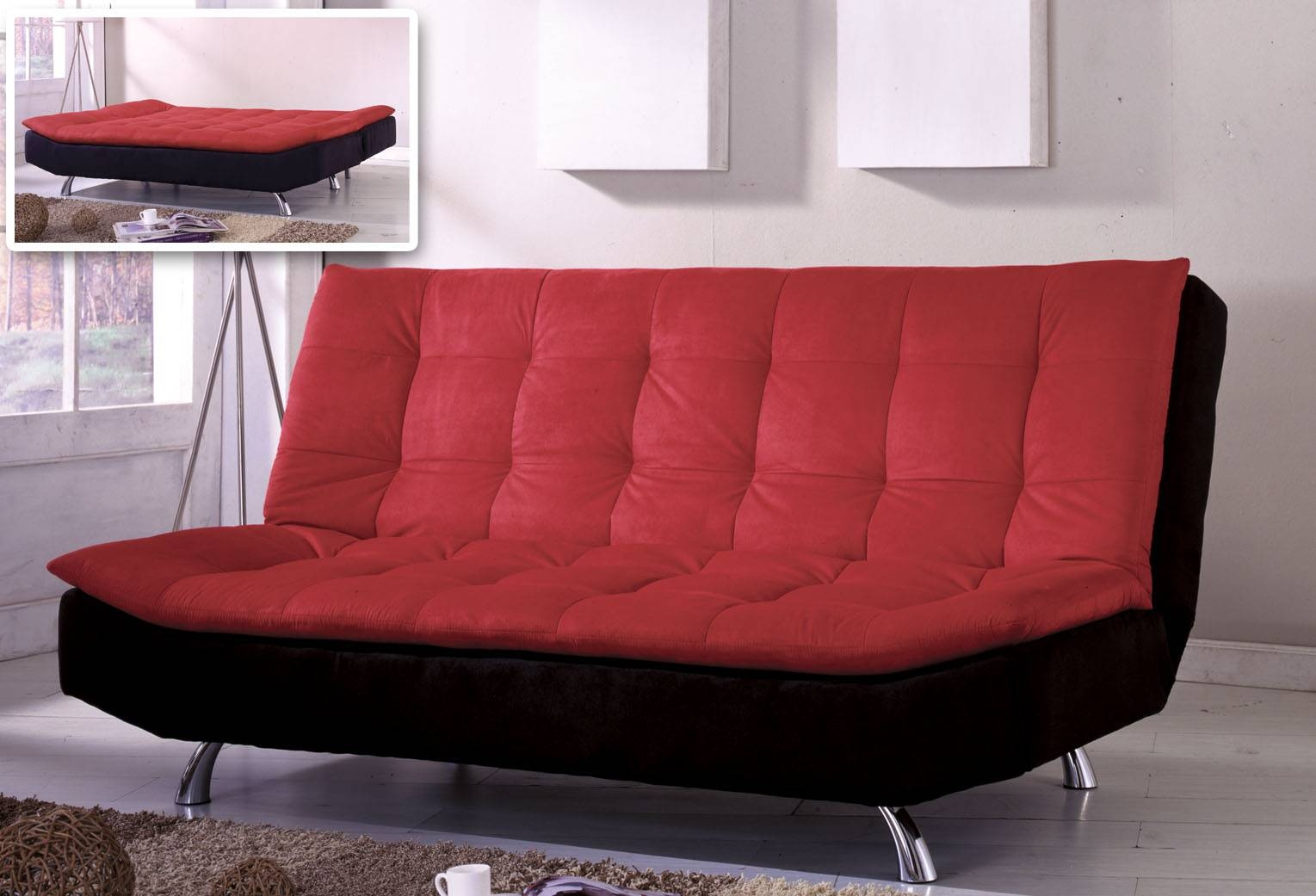 Furniture: Big Choice Of Styles And Colors Futon Beds Ikea For in Fulton Sofa Beds (Image 17 of 30)
