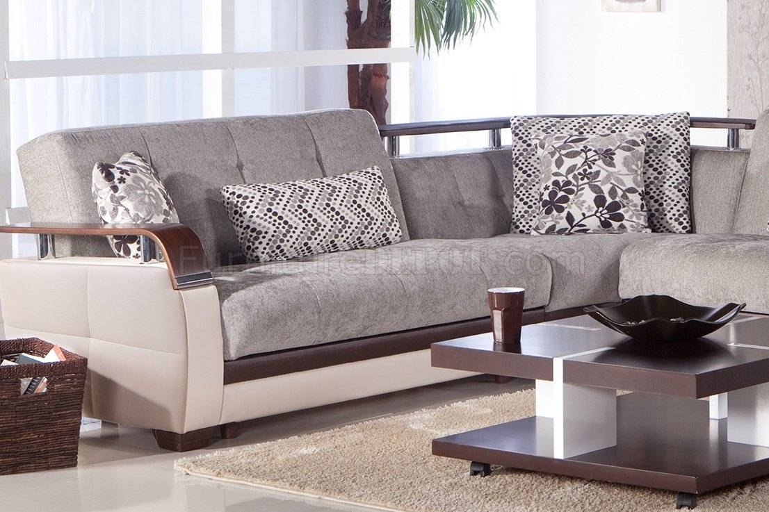 Furniture: Black Microfiber Sectionals | Suede Sectional Sofa for Modern Microfiber Sectional Sofa (Image 15 of 30)