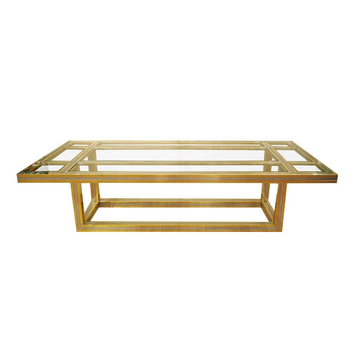 Furniture: Brass Glass Coffee Table Design Ideas Brass Glass regarding Antique Brass Glass Coffee Tables (Image 18 of 37)