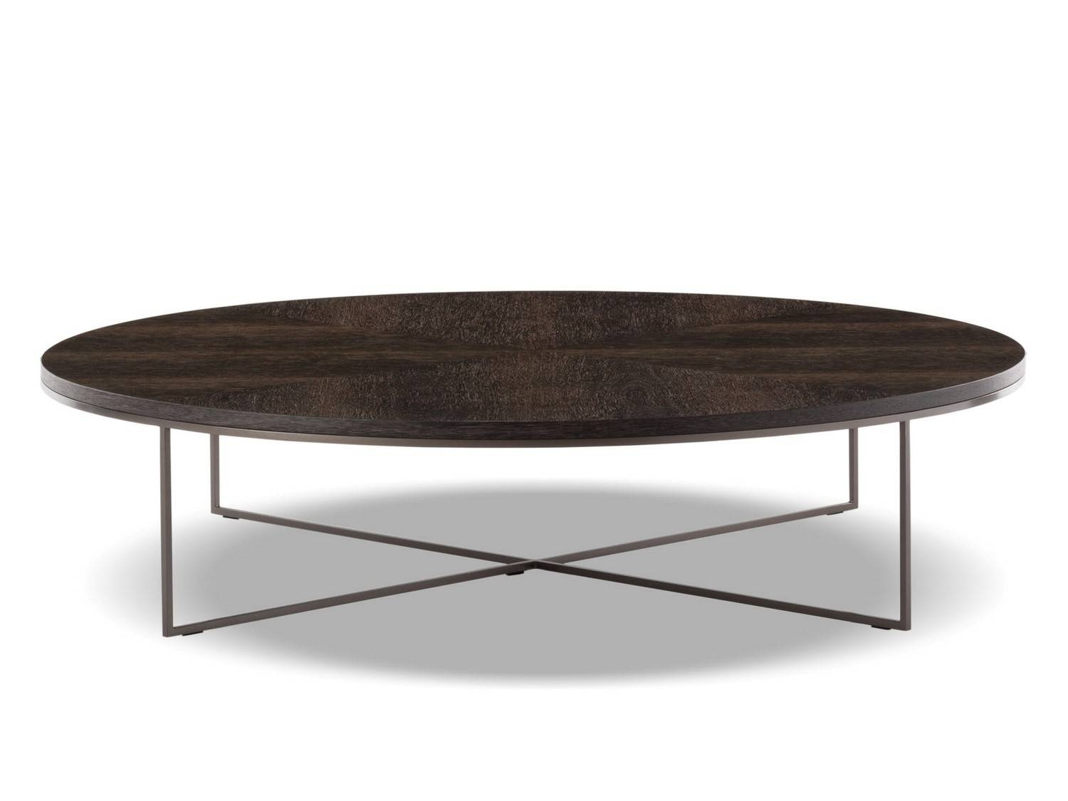 Furniture. Bronze Coffee Table Design Ideas: Black Oval inside Black Oval Coffee Table (Image 17 of 30)