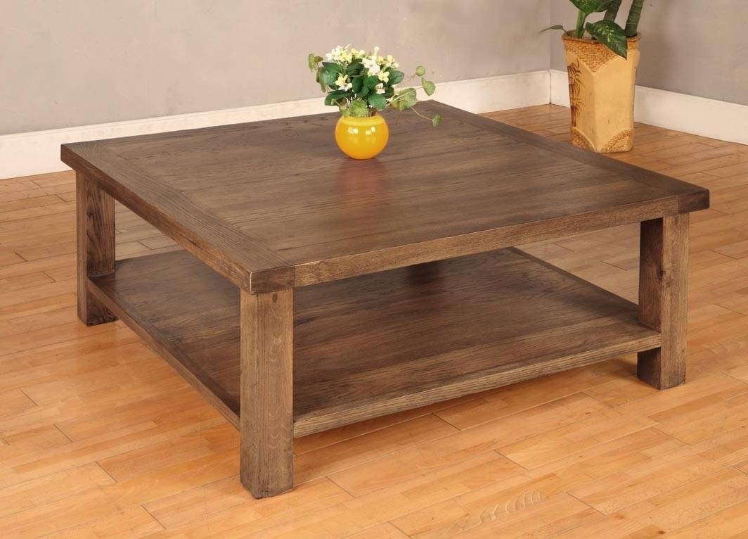 Furniture: Build Your Rustic Wooden Coffee Table Using Rustic throughout Rustic Wood Diy Coffee Tables (Image 15 of 30)