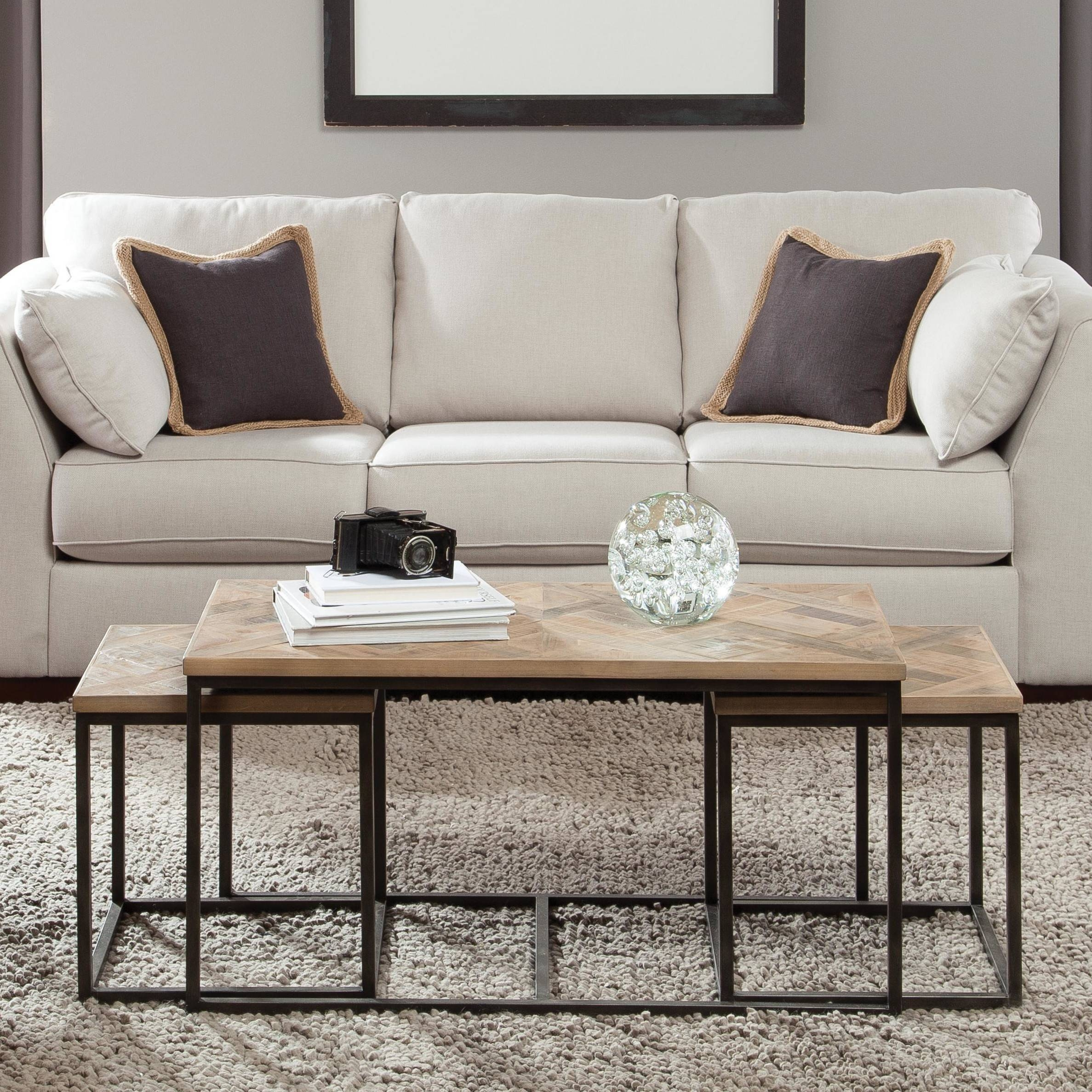 Furniture: Bunching Coffee Tables And Nesting Coffee Table Also intended for Odd Shaped Coffee Tables (Image 21 of 30)