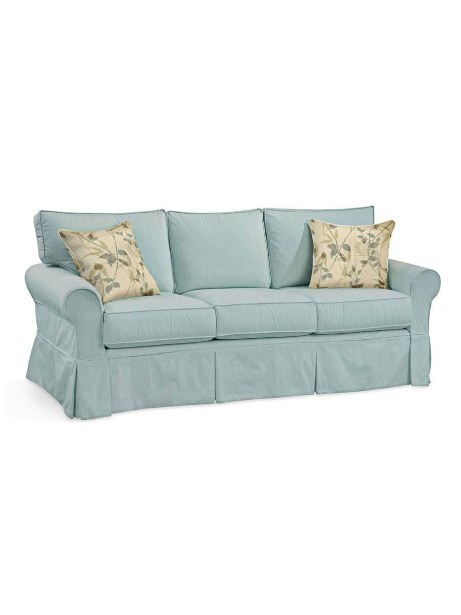 Furniture: Camden Sofa With Classic Style For Your Home intended for Aqua Sofa Beds (Image 14 of 30)