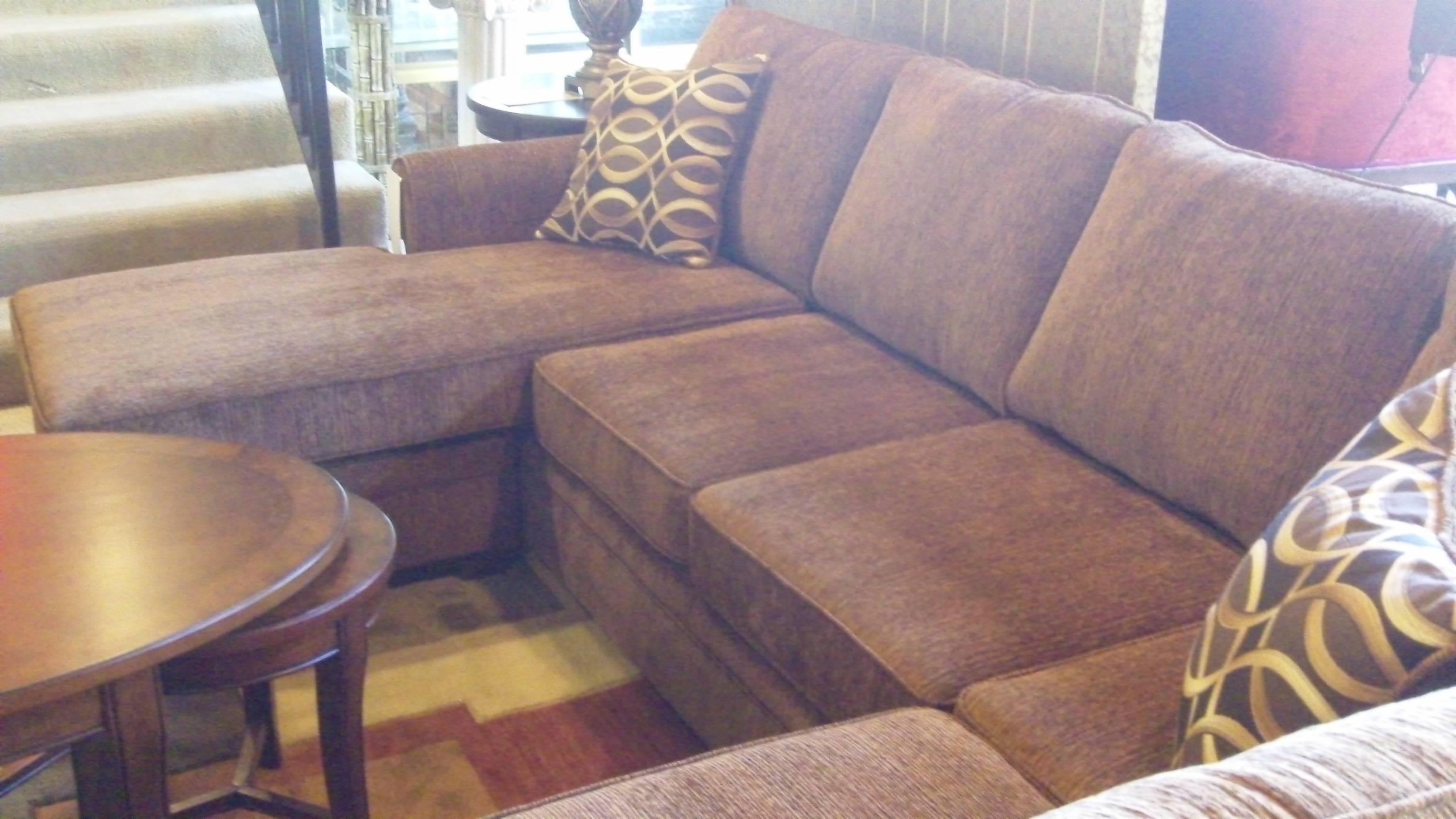 Furniture: Charming Cheap Sectional Sofas In Brown With Cushion inside Cheap Sofas Houston (Image 10 of 30)