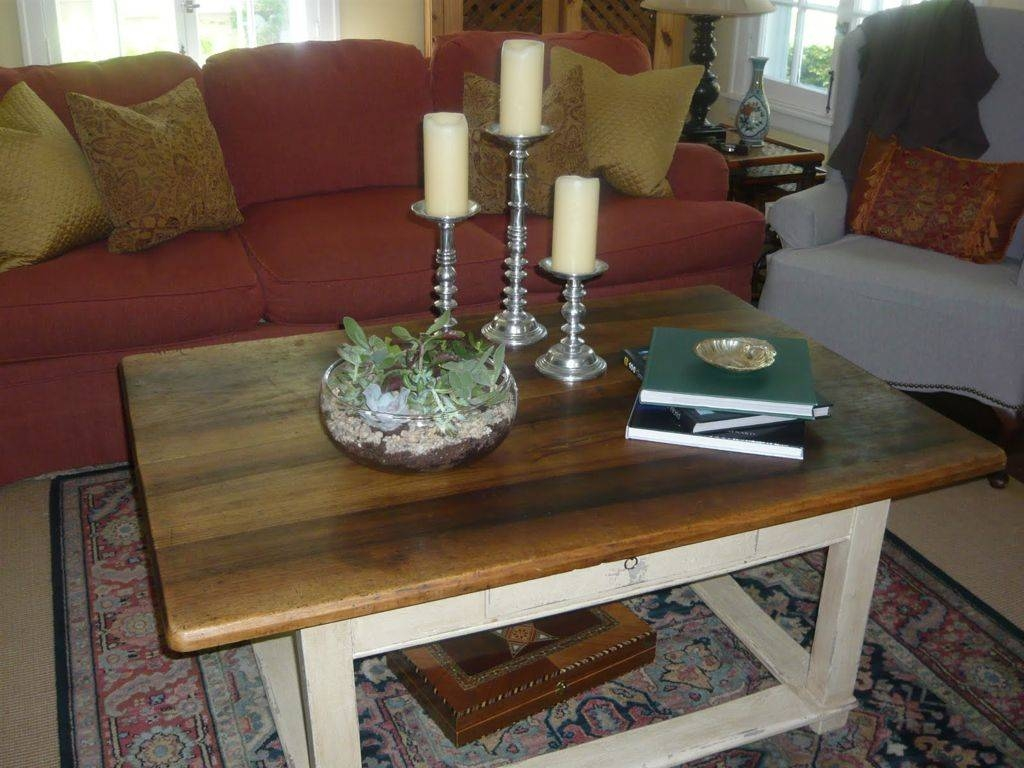Furniture : Cheerful Brown Wood Coffee Table Decor With White Wood with White and Brown Coffee Tables (Image 10 of 30)