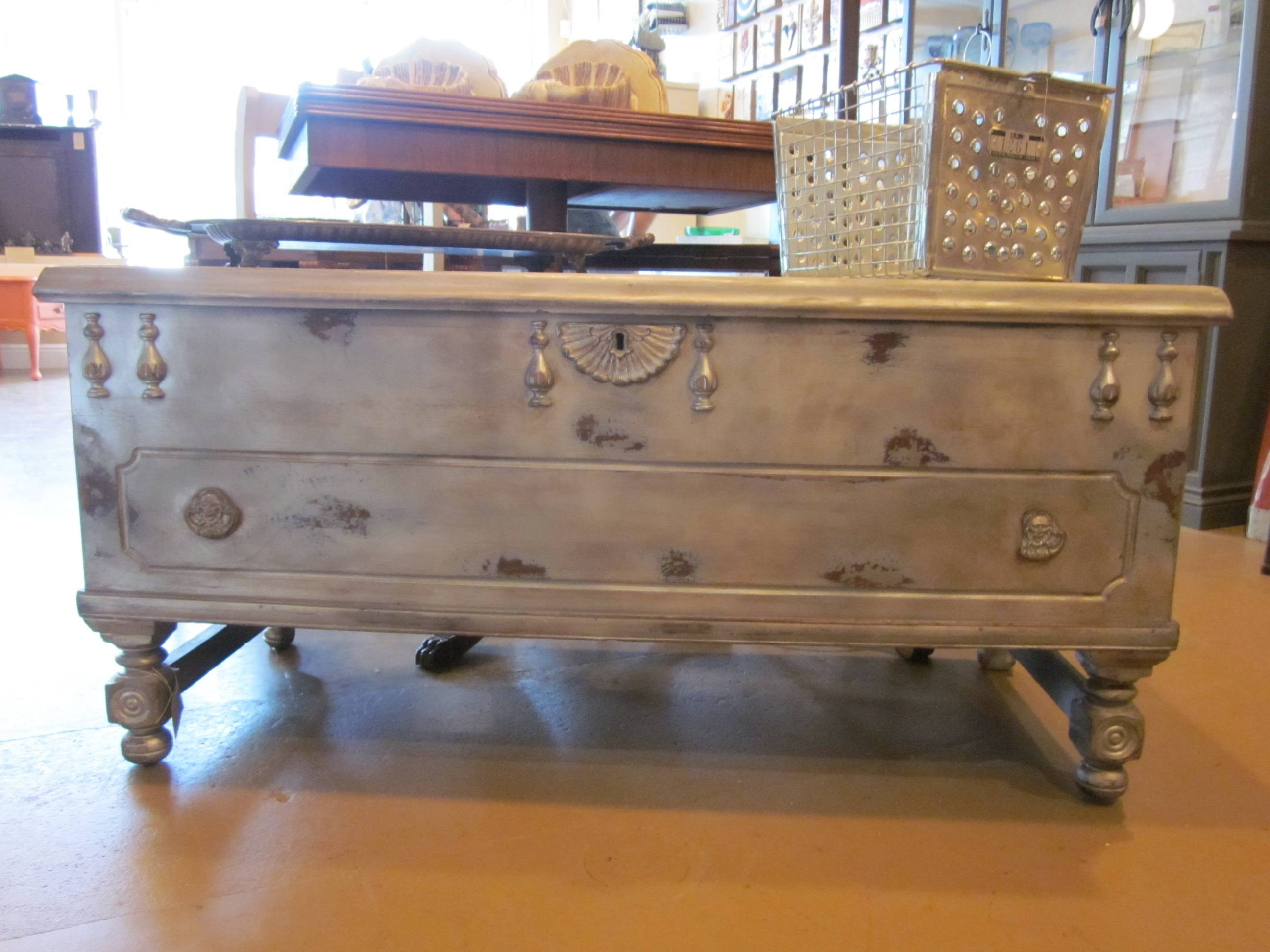 Furniture: Chest Coffee Table For Inspiring Antique Living For Antique Rustic Coffee Tables (View 18 of 30)