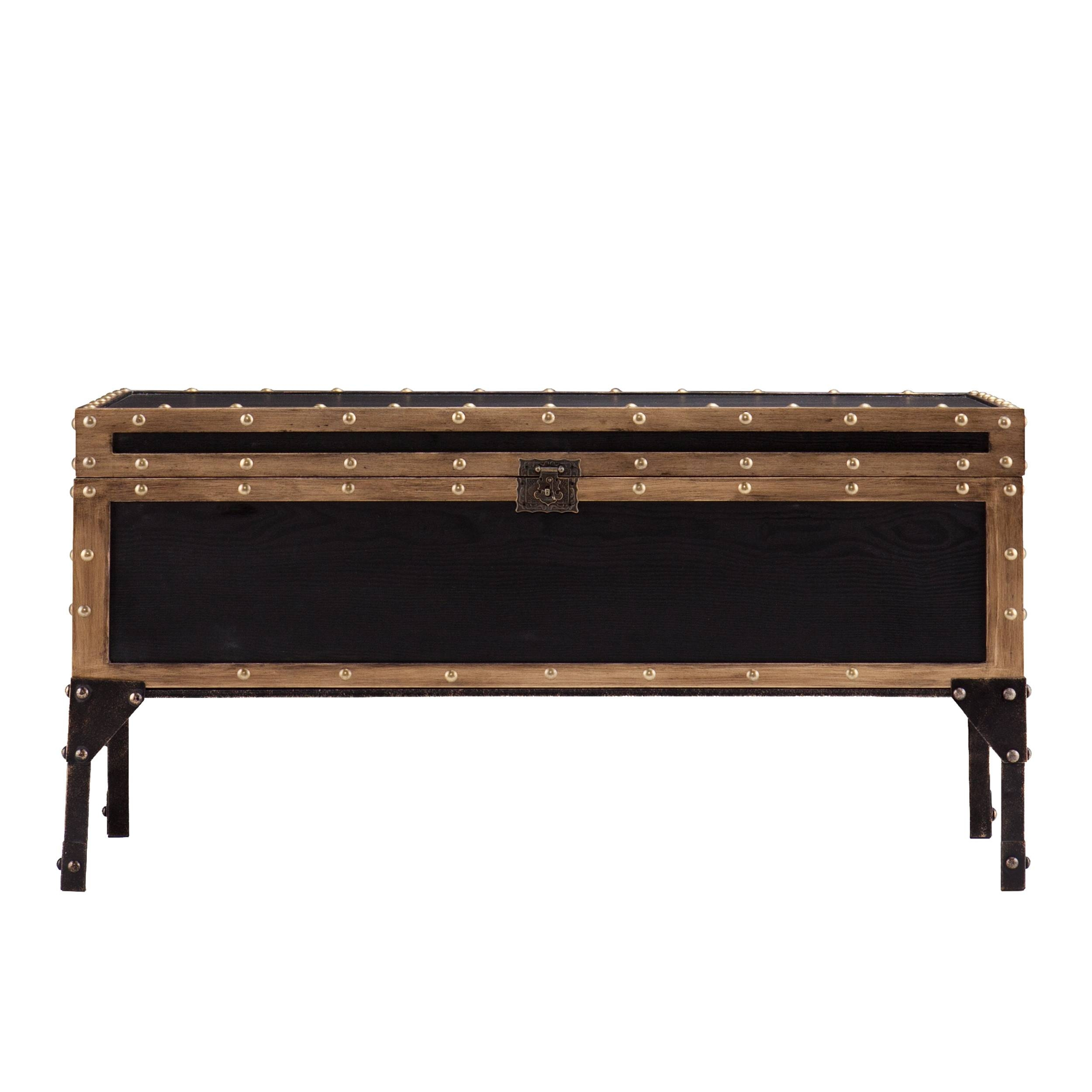 Furniture: Chest Coffee Table For Inspiring Antique Living intended for Dark Wood Chest Coffee Tables (Image 20 of 30)
